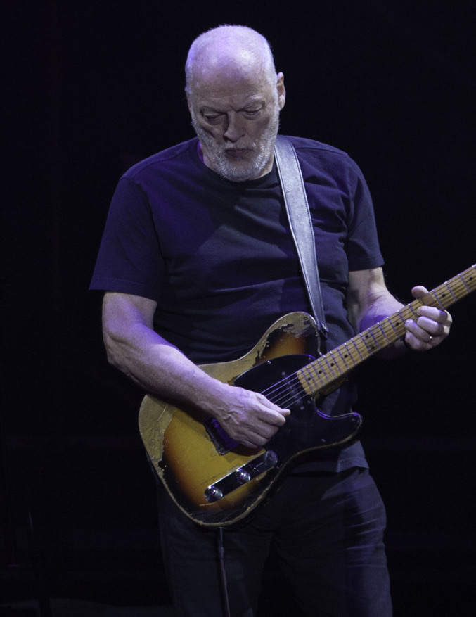 David Gilmour performing in 2015 (Wikipedia)